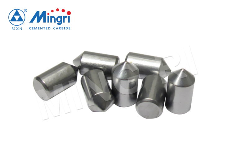 round tungsten carbide button tips for oil-field drilling