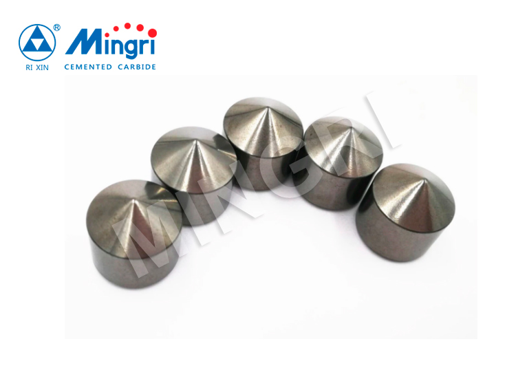 Tungsten Carbide Buttons Tips for Drill Bits Used in Drilling and Mining