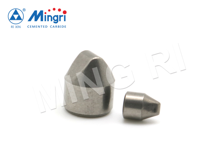 Hard alloy oil field drill bits cemented tungsten carbide button teeth tips