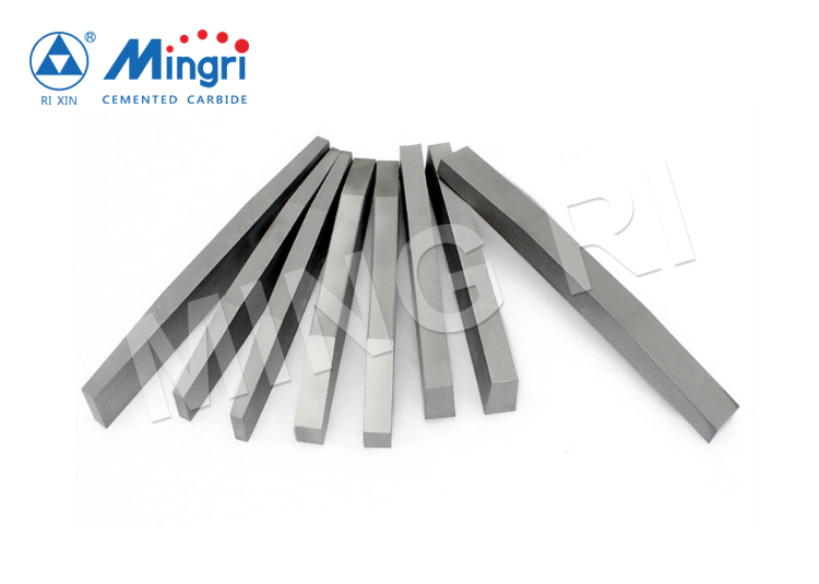 VSI Crusher Rotor tips Tungsten carbide TC strips