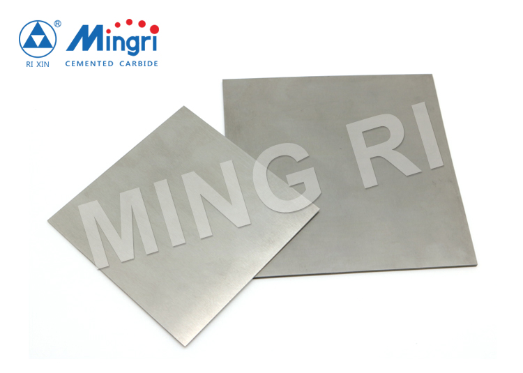 Cemented carbide plate