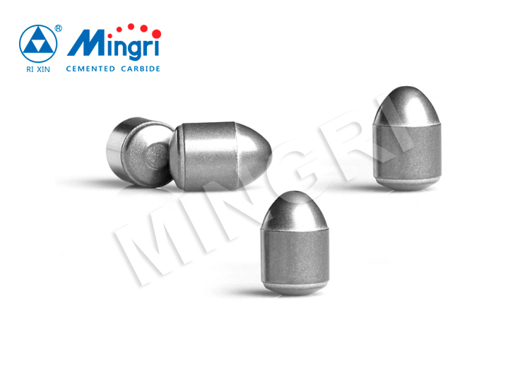 Tungsten Carbide Bullet Teeth Drill Button Bit for Mining Hard Rock